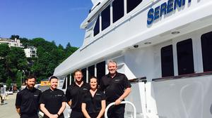 Come aboard the luxury yacht Serenity sailing to Alaska for the summer (Photos)