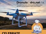 It's a bird; it's a plane; it's a LaMar's 'dronut'