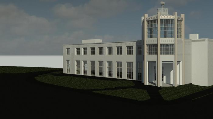 FIRST LOOK: Group wants to turn original Columbus airport terminal into a museum and offices for startups