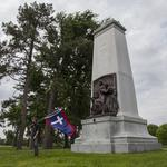 Confederate Memorial can't come down until ownership decided: Judge