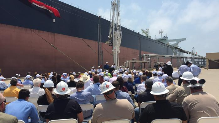 Supertankers tested at Port Corpus Christi (SLIDESHOW)