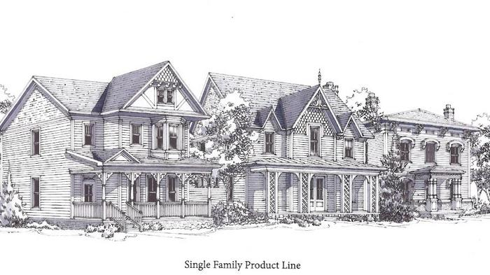 Proposed 70-home Alpharetta residential project looks back to Romantic Era (SLIDESHOW)