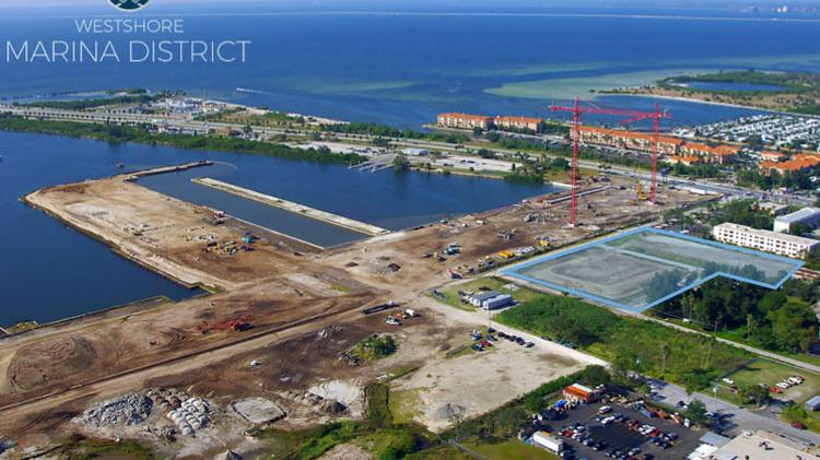 Related Group has landed a construction loan for Town Westshore in the Westshore Marina District.
