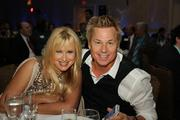 Rhonda Shear and Kato Kaelin