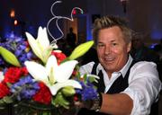 Kato Kaelin at Shear Enterprises' table