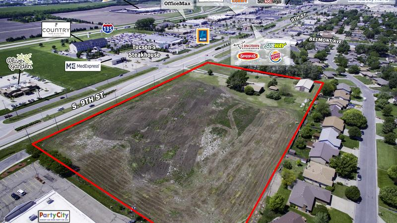 SEALED BID OFFERING! Prime Development Land along the Salina, KS Retail  Corridor