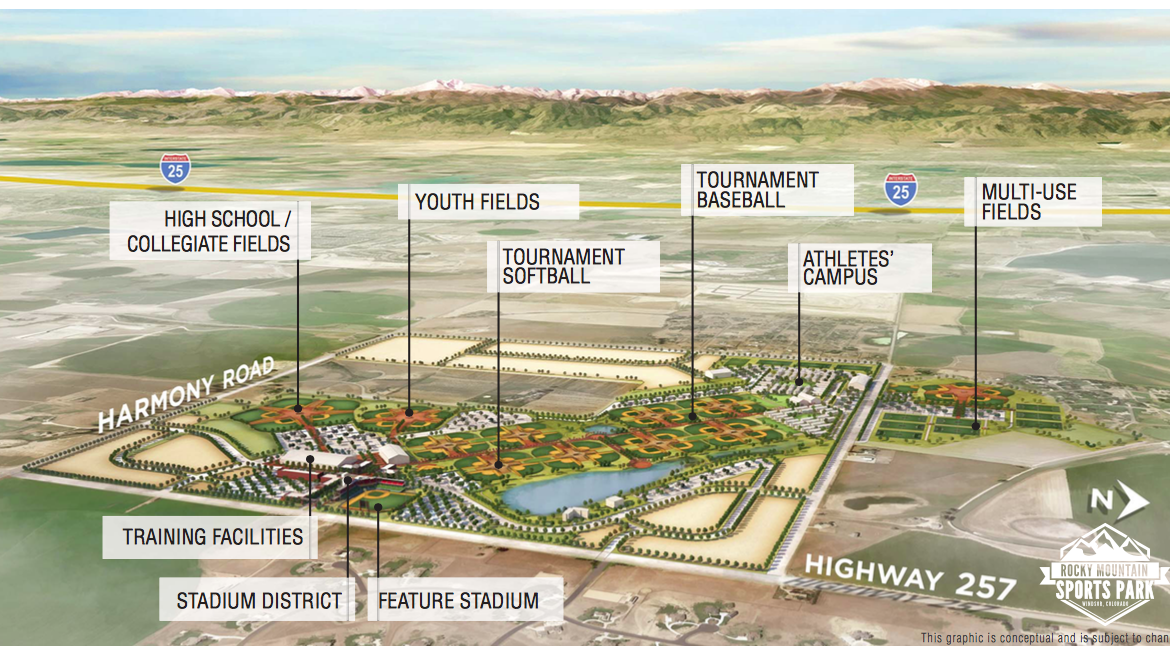A Look At The Proposed 225m Youth Sports Park In Northern Colorado Denver Business Journal