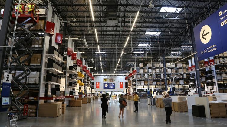 photos columbus ikea ready for opening june 7 columbus columbus business first. Black Bedroom Furniture Sets. Home Design Ideas