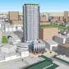 Here's the first look at Roxbury's $144M, 25-story Kenneth Guscott Tower