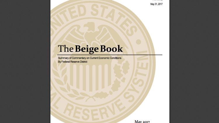 beige book report The beige book is the federal reserve's report of the us economy the fomc uses it to set monetary policy at its meetings.