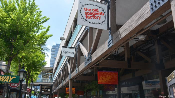 A chance to own a piece of Hawaii's Old Spaghetti Factory before it moves to Aloha Tower
