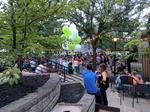 OTR's treehouse bar sold nearly 5,000 cans of Rhinegeist alone in its opening weekend