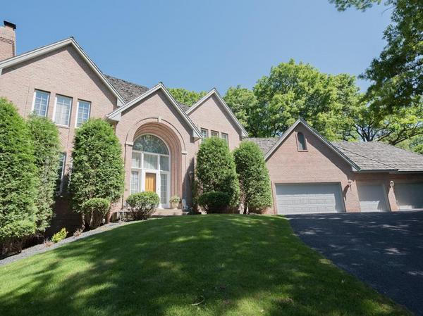 Beautiful Edina 2-Story on a Private 1/2 Acre Lot!