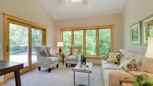 Terrific Open Plan with Private Woodland Views in Minnetonka