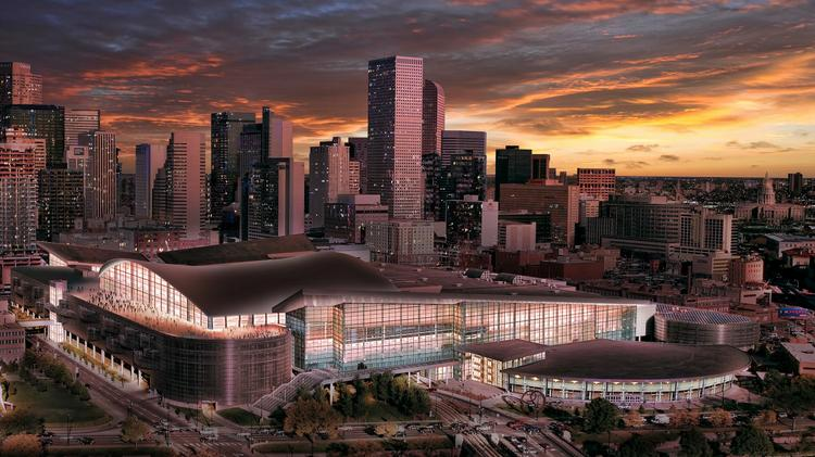 A Rendering Showing The Expanded Colorado Convention Center