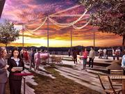 A look at the proposed rooftop terrace that tourism leaders say is key to attracting more events to the Colorado Convention Center.