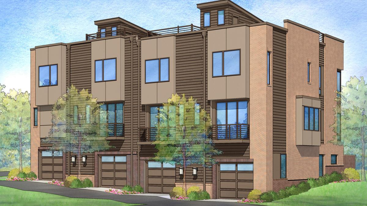 New Downtown Raleigh Townhouses Signal More To Come From N