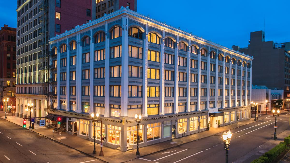 Long awaited hotel opens in historic downtown portland - 2 bedroom suites portland oregon ...
