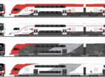 Here's the paint scheme Caltrain riders chose for new electric trains
