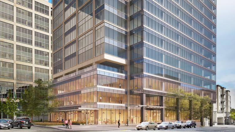 Hines Dusts Off Halted Plans To Build Bellevue Office Tower Puget