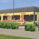 Sprecher hopes to replicate shipping container cafes after test run at The Rock