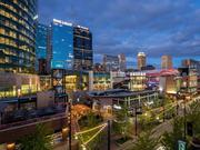 Cordish Cos.' One Light Luxury Apartments has been nominated for a ULI Global Award for Excellence. It is pictured in downtown Kansas City's Power & Light District, which won one of the prestigious awards in 2009.