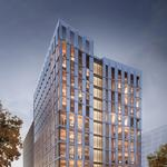 A first look at the country's first mass timber high-rise as it takes root in Portland (Renderings)