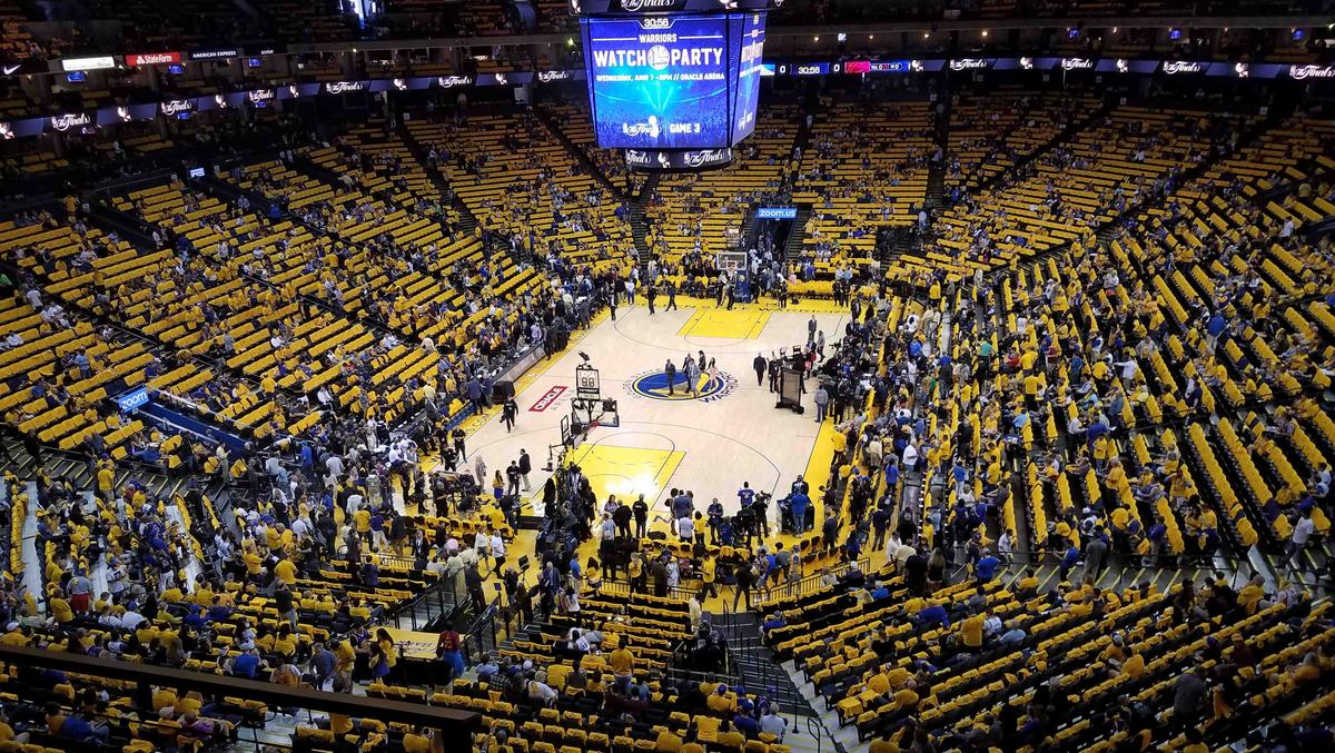 How Oracle Arena makes money — and doesn't — on the Golden State Warriors' NBA Finals runs - San ...