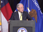 AG Jeff Sessions in Atlanta: Child exploitation is getting worse