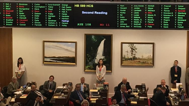 "The ""Competitive Energy Solutions for NC"" bill (House Bill 589) sailed through readings in the N.C. House Wednesday, with a final tally of 108 for an 11 against."