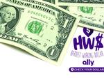 Ally Financial wants you to check how much your $1 bill is worth