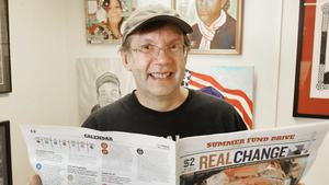 Newspaper founder Tim Harris is fighting for Real Change
