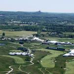 A view from Chopper 4 of Erin Hills, site of the U.S. Open: Slideshow
