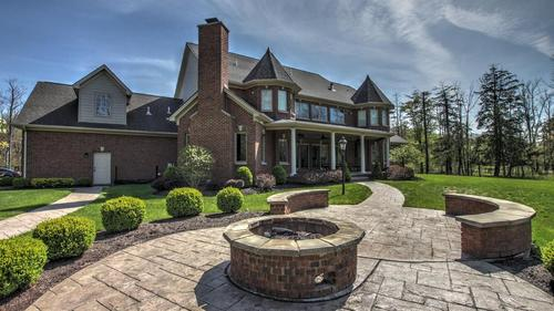 Custom Built Brick Home with Beach Access