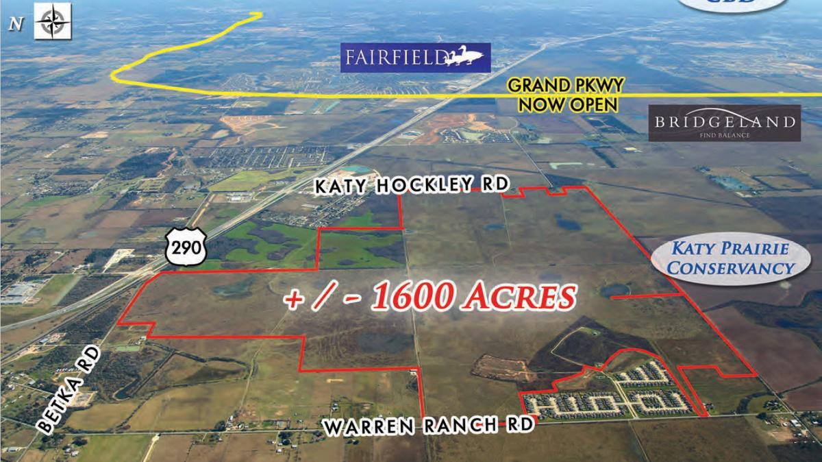 Exclusive Johnson Development Acquires 1600 Acres Northwest Of Houston