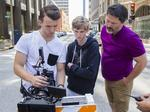 Young director films in downtown St. Louis for latest project