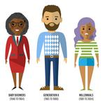 Generations, from boomers to millennials, approach retirement savings differently
