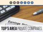 Top of the List: Private Companies