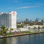 Fort Lauderdale marina hotel listed for sale