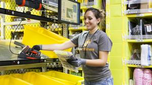 Amazon's sprawling fulfillment centers are growing taller as the company builds closer and closer to big cities.