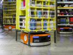 Amazon's warehouse robots top 100,000; warehouse workers hit 125,000