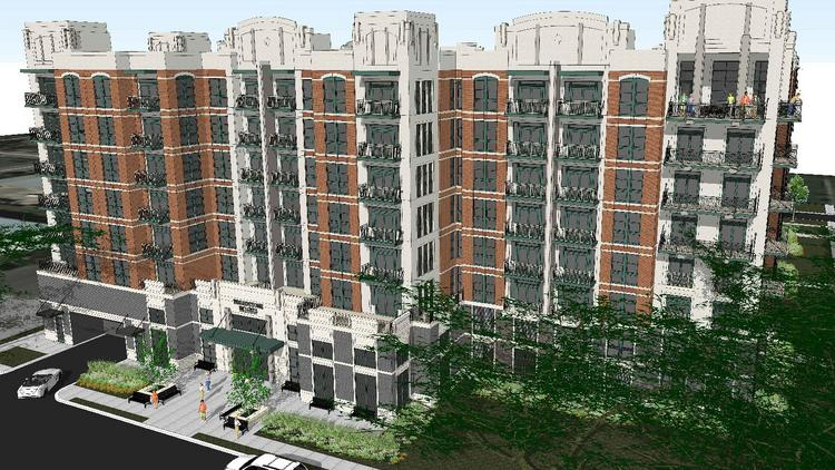 A Rendering Of Alliance Residential S Broadstone Heights Multifamily Development Filings Show The Developer Has Two