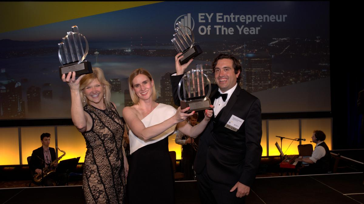 2 Portlandpanies Named Entrepreneurs Of The Year  Portland Business  Journal