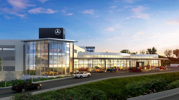 Massive greater cincinnati mercedes benz dealership hits for Mercedes benz dealership seattle