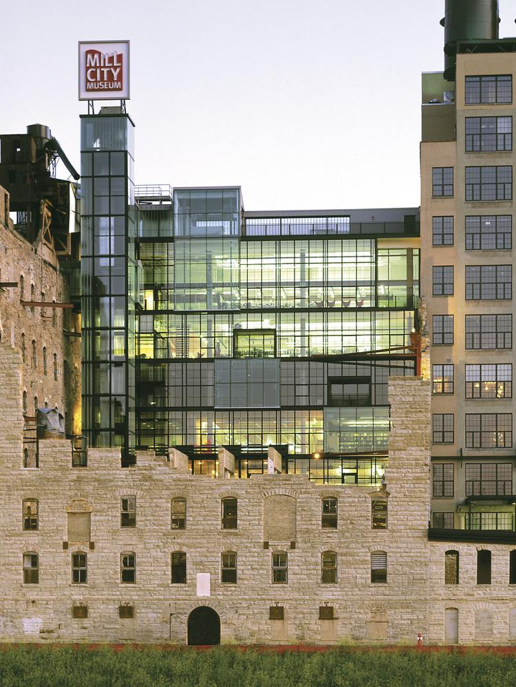 Iconic Minneapolis Mill City Ruins Near St Anthony Falls Getting A Trim