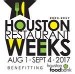 Updated: Houston Restaurant Weeks announces participating restaurants for 2017