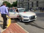 Check out the first self-driving Audi to hit the streets of Albany (Video)