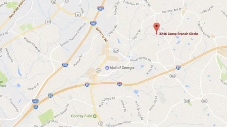 Map Of Georgia Mall.700 000 Homes Planned Near Mall Of Georgia In Gwinnett County