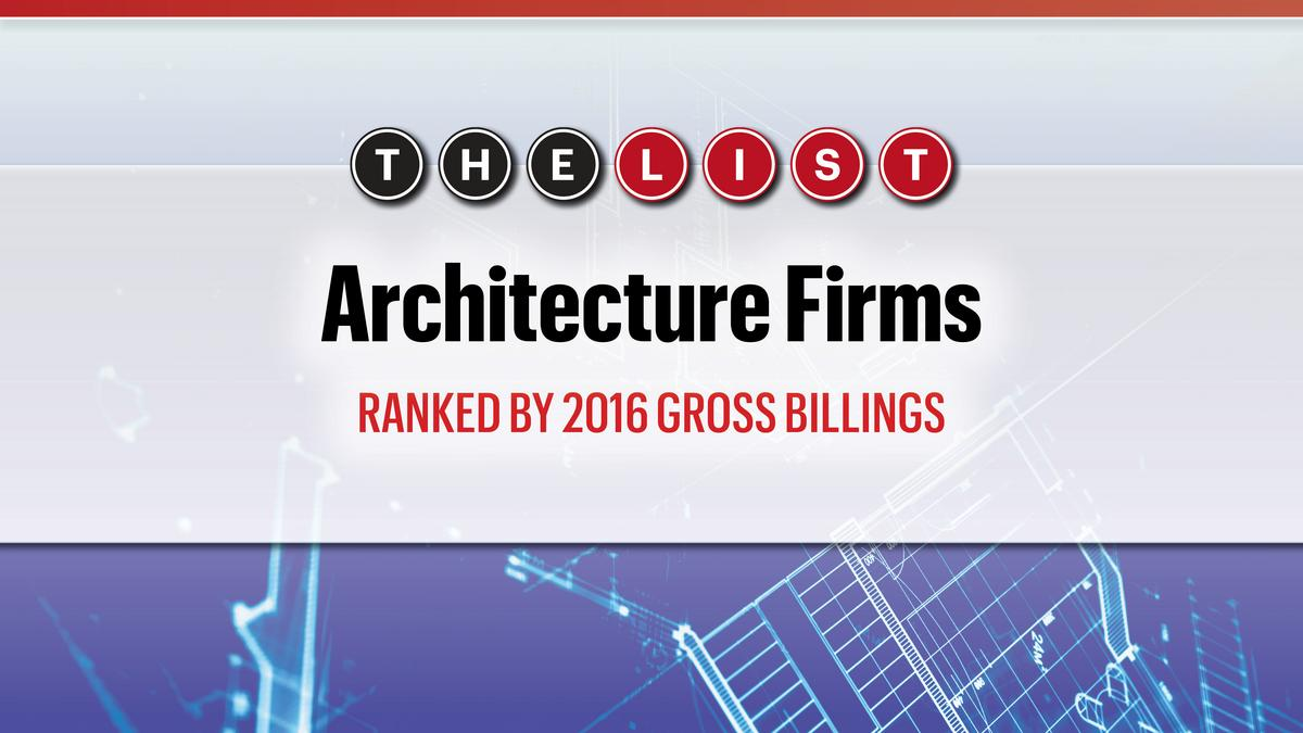 The list architecture firms south florida business journal for Architecture company