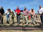 Workers creating $200K plaza to honor old plant at Riverwalk development (PHOTOS)